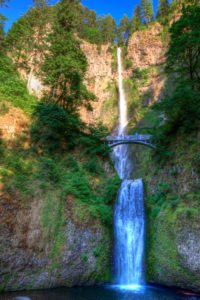 Pacific Northwest Multnomah Falls